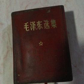 毛泽东选集 毛主席彩像 林题完整