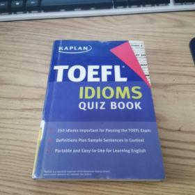 Kaplan TOEFL Idioms Quiz Book 托福词汇手册  9781427797513