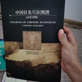 中国针灸穴位图谱(汉英对照)
