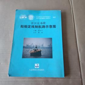 长江江苏段船舶定线制航路示意图