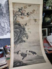 清代画家仰陶作品,清代花鸟山水画。买家自鉴,售出不退不换。