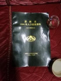 肥西县1990年人口普查资料