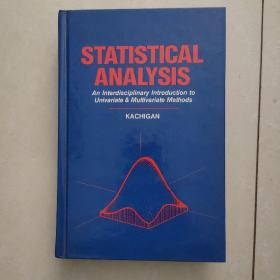 statistical analysis:an interdisciplinary introduction to univariate & multivariate methods(统计分析:单变量和多变量方法的跨学科介绍)英文原版