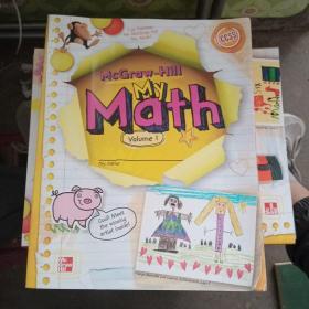 McGraw-Hill My Math Volume 1、2【2本合售】