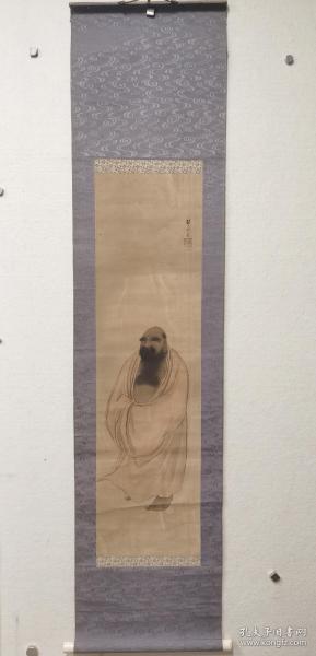 日本明治画家千种扫云《罗汉图》