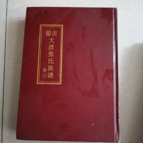 古滕大彦张氏族谱(卷三)