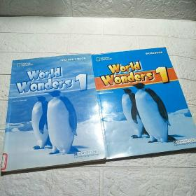 World Wonders 1 (WORKBOOK、TEACHER'S BOOK)两本合售  平装 16开 详情看图