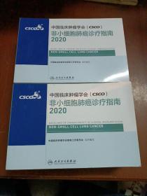 中国临床肿瘤学会(CSCO)非小细胞肺癌诊疗指南2020(全新未翻阅),优价售