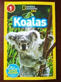 National Geographic Readers: Koalas 国际地理少儿版:可爱的卡拉 【正版全新】