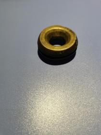 清代铜制药铃虎撑 直径4厘米 包老保真 老的 请看好  放在家里
