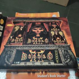 暗黑破坏神2 1.10版 4张光盘 3本书