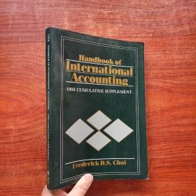 handbook of lnternational accounting