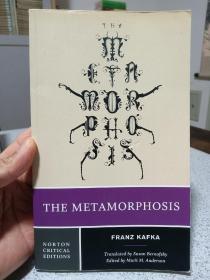 2014年,英文原版,平装版本,诺顿版,卡夫卡作品,变形记,the metamorphosis
