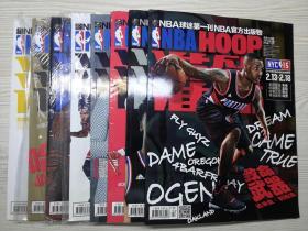 NBA球迷第一刊NBA官方出版物2015年8本合售 无海报