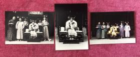 著名演员 邓婕、陈炜、钟淑慧、吕一、张海燕《慈禧西行》定装照老照片3枚