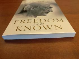 Freedom from the Known(现货,实拍书影)