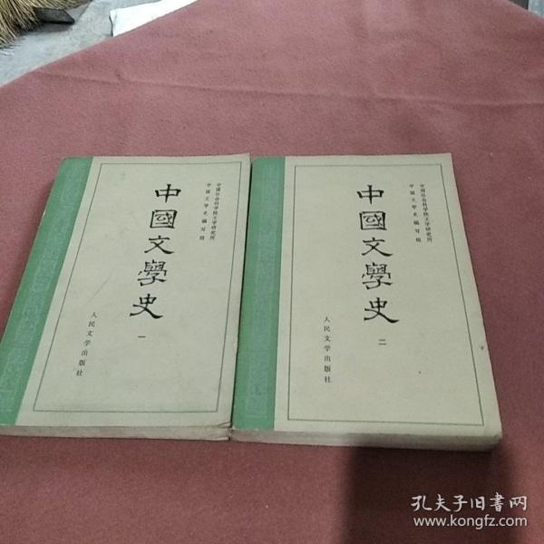 中国文学史 一二册