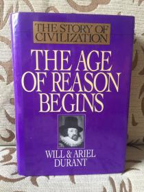 Story of the Civilization: the age of reason begins by Will Durant  -- 威尔杜兰特《世界文明史之理性时代开启》