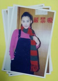 影视大明星、美女演员张柏芝早期拍摄照片(AGFA相纸冲洗)1张