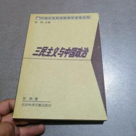 三民主义与中国政治——中国社会科学院青年学者文库/文史系列