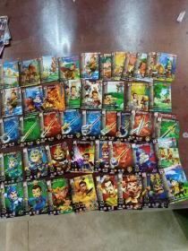 灵动三国卡片   45张