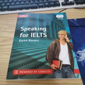 Collins Speaking for Ielts. by Karen Kovacs(有两张光盘,外观有磨损,内页干净)