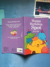 Happy Birthday, Spot : story sticker book