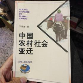 【一版一印】中国农村社会变迁  王春光 云南人民出版社9787222020115