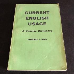 当代英语用法简明字典 Current English Usage A Concise Dictionary