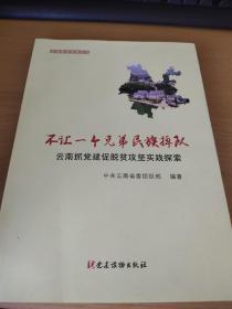不让一个兄弟民族掉队:云南抓党建促脱贫攻坚实践探索