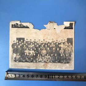 老照片 共青团盐城1955年合影照片