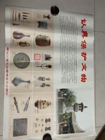 认真保护文物 黑龙江省文物管理委员会文革时期宣传张贴海报