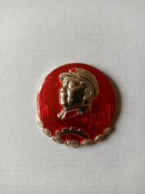上海工人革命造反总司令部(3)毛主席章(直径5.3厘米)