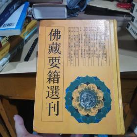 佛藏要籍选刊.9
