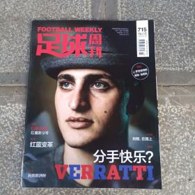 2017年足球周刊第15期总715期
