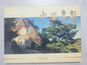 中国阜新纪念邮册(缺1954年发行海州露天矿邮票)