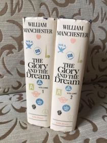 The glory and the dream by William Manchester -- 曼彻斯特 《光荣与梦想》 精装两卷本