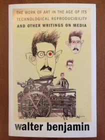 The Work of Art in the Age of Its Technological Reproducibility, and Other Writings on Media(现货,实拍书影)