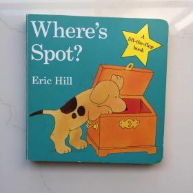 Where's Spot? [Board book]  英文儿童纸板书