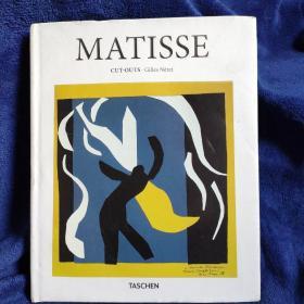 Henri Matisse Cut Outs亨利马蒂斯剪纸绘画艺术作品集原版
