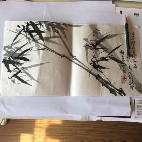 苏寿同国画小品 【33厘米X17.6厘米】
