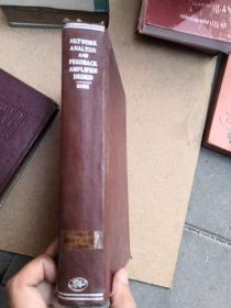 NetworkAnalysisandFeedbackAmplifierDesign精装版 1946年
