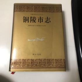 安徽省地方志丛书-铜陵市志