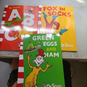 Dr Seuss' ABC 苏斯博士的ABC 三本