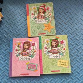 英文原版 ELLA Diaries(3本合售)