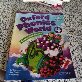 英文原版 牛津自然拼读世界4 学生用书 OXFORD Phonics World Lev