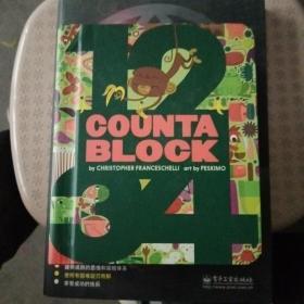 英文原版数数板绘本 Block Countablock Board Book