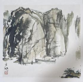 方枫(山水二)
