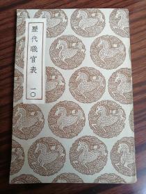 历代职官表(十)(民3)