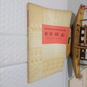 中国少数民族语言简志丛书:壮语简志